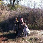 E-Alya на осенней охоте на фазана